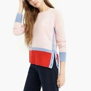 J.Crew cashmere crewneck sweater size S